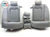 03-07 MASERATI QUATTROPORTE REAR ROW SEAT CUSHION BACK HEAD ARM REST CONSOLE SET #MQ061517