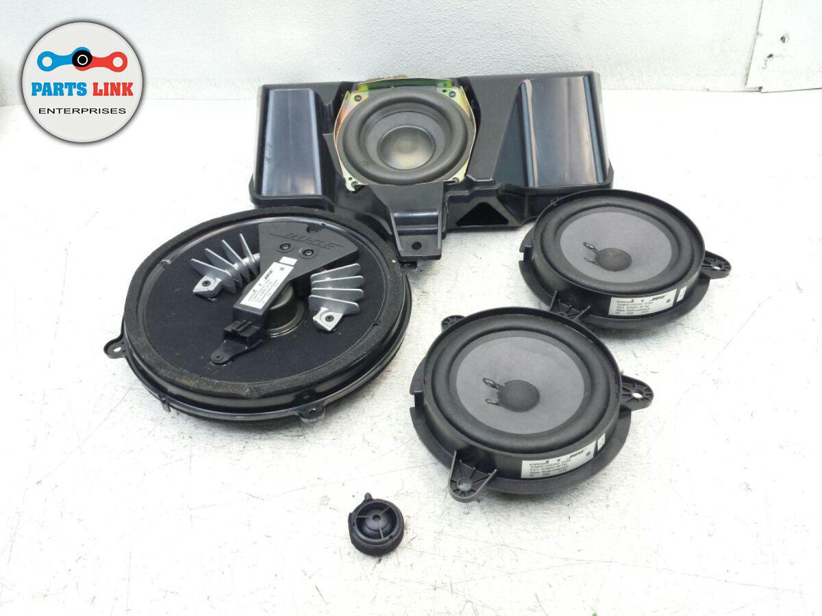 Bose Speakers For Cars >> Maserati Quattroporte M139 Bose Speaker Speakers Set Sub Woofer Oem