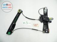 12-18 RANGE ROVER EVOQUE FRONT RIGHT PASSENGER DOOR WINDOW REGULATOR MOTOR LIFT #EQ031016