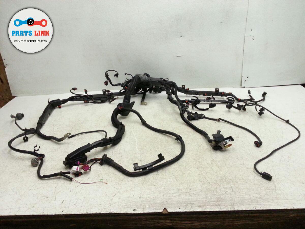 Porsche Cayenne 958 Engine Motor 4 8l Turbo Wiring Harness Oem