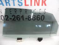 2004-2010 AUDI A8 A8L REAR LEFT DOOR GLASS WINDOW W/O DUAL PANE TINT LWB LONG