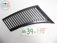 1979 MERCEDES 107 TYPE 450SL RIGHT FRONT WINDSHIELD COWL GRILLE VENT GRILL OEM #MS052015