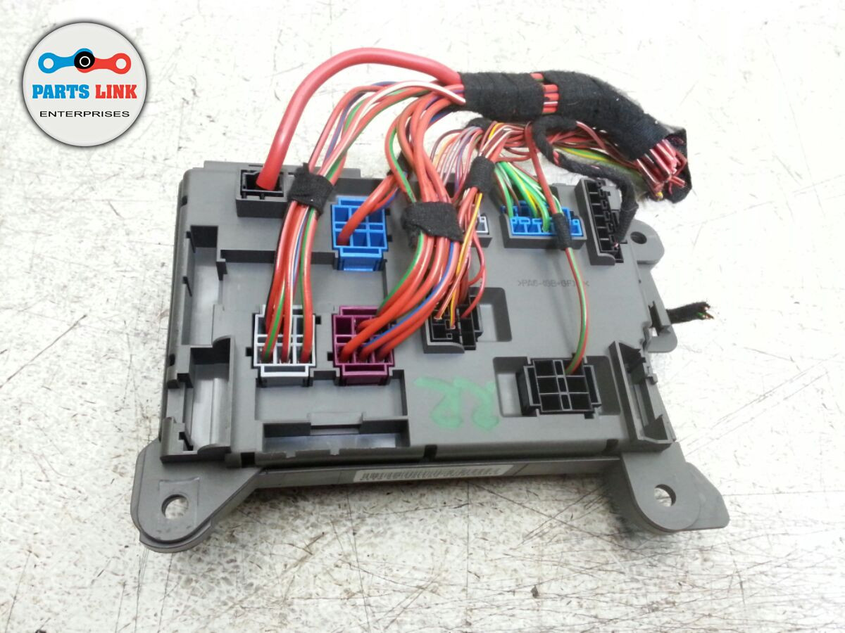 bmw x5 e70 rear electrical relay fuse box junction block oem  image 1