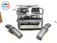 BMW X5 E70 RADIATOR CONDENSER COOLING FAN SHROUD TUBING SET OF 6 OEM