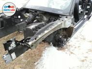 07-15 JAGUAR XK FRONT LEFT DRIVER APRON BEAM RAIL INNER FENDER STRUCTURE CUT XKR #JK020118