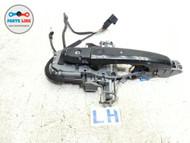 JAGUAR XK LEFT EXTERIOR DOOR HANDLE BLACK DRIVER ASSEMBLY OEM