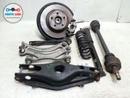 10-16 MERCEDES W212 E350 REAR LEFT KNUCKLE KNEE CALIPER HUB STRUT AXLE ARM SET #MB020218