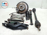 10-16 MERCEDES W212 E350 REAR RIGHT KNEE CALIPER KNUCKLE STRUT AXLE ARM HUB ASSY #MB020218