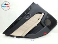 2010-2013 MERCEDES BENZ W212 E350 REAR LEFT INNER DOOR TRIM PANEL HANDLE COVER #MB020218