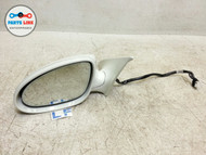 08-10 MERCEDES CL63 AMG CL W216 LEFT DRIVER DOOR POWER SIDE VIEW MIRROR WHITE #CL033018