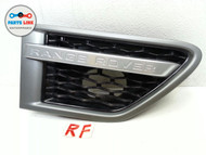 2010-2011 RANGE ROVER SPORT HSE L320 FRONT RIGHT SIDE FENDER MOLDING GRILLE OEM