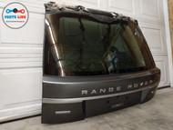 13-19 RANGE ROVER L405 REAR UPPER TAIL GATE TRUNK HATCH DOOR GLASS TRIM CORRIS