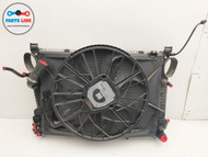 2003-2008 MERCEDES BENZ SL550 R230 AC RADIATOR CONDENSER FAN COOLER PACK SET OEM