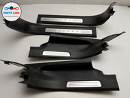 2016-2018 VOLVO XC90 T5 FRONT REAR DOOR SILL STEP SCUFF PLATE TRIM SET OF 4 OEM