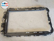 2016-2018 VOLVO XC90 T5 UPPER SUNROOF MOONROOF GLASS FRAME TRACK HOUSING OEM