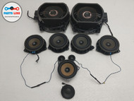 2014-2018 BMW X5 35I XDRIVE F15 AUDIO SPEAKER TWEETER SUBWOOFER SET OF 10 OEM