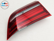 2014-2018 BMW X5 35I XDRIVE F15 REAR LEFT DRIVER SIDE INNER TAIL LIGHT LAMP OEM