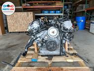 2017 AUDI Q7 4M 3.0 V6 TFSI GASOLINE QUATTRO FRONT ENGINE MOTOR 6 CYLINDER 8K
