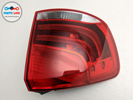 2013-2015 BMW X1 35I XDRIVE E84 REAR LEFT DRIVER SIDE OUTER TAIL LIGHT LAMP OEM
