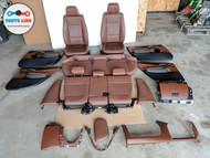 2013-2015 BMW X1 35I E84 SEAT DOOR PANEL ARMREST GLOVE BOX DASH TRIM SET OEM