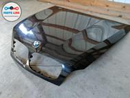 2007-2013 BMW X5 50I XDRIVE E70 FRONT HOOD BONNET W/ EMBLEM CARBON BLACK OEM