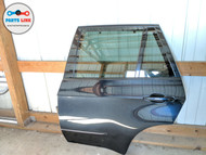 2007-2013 BMW X5 50I XDRIVE E70 REAR LEFT DRIVER DOOR W/ GLASS HANDLE TRIM OEM