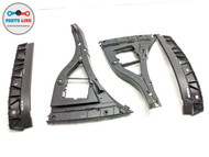 2010-2018 JAGUAR XJ X351 REAR LEFT & RIGHT BUMPER COVER MOUNTING BRACKET SET OEM