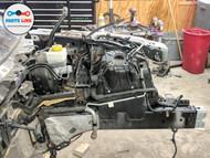 2010-2011 JAGUAR XJ X351 FRONT LEFT DRIVER FENDER APRON FRAME BODY CUT OFF OEM