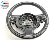 2010-2015 JAGUAR XJ X351 DRIVER HEATED STEERING WHEEL W/ SHIFTER PAD SWITCH OEM