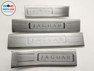 2010-2015 JAGUAR XJ X351 FRONT & REAR DOOR SCUFF STEP PLATE SILL TRIM SET OEM