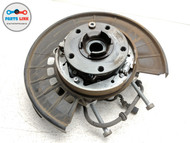 2011-2017 VOLKSWAGEN TOUAREG 7P AWD REAR DRIVER SPINDLE KNUCKLE WHEEL HUB OEM
