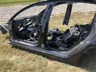 2017-2019 TESLA MODEL 3 REAR LEFT DRIVER QUARTER PANEL BODY FRAME CUT STRUCTURE