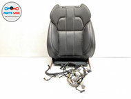 2014 RANGE ROVER SPORT L494 LEFT FRONT DRIVER SEAT BACK REST CUSHION PAD BLACK