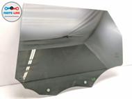 2014-2019 RANGE ROVER SPORT L494 LEFT REAR DOOR GLASS WINDOW PANEL W/ TINT OEM