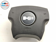 2005-2007 HUMMER H2 DRIVER STEERING WHEEL AIRBAG AIR BAG W/ COVER EMBLEM OEM