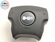 2005-2007 HUMMER H2 DRIVER STEERING WHEEL AIRBAG AIR BAG W/ EMBLEM OEM #HM032519
