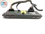 06-08 BMW M6 E63 DASH CONSOLE PARK AID PDC DSC DISTANCE TPMS SEAT HEAT SWITCH #BM012519