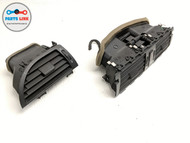 06-07 BMW M6 E63 FRONT CENTER RIGHT DASH AC AIR VENT GRILLE HAZARD SWITCH SET-2