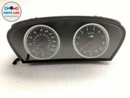 2006-2010 BMW M6 E63 SPEEDOMETER INSTRUMENT CLUSTER GAUGE MPH 75K MILES E60 M5