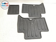 2017-2019 LAND ROVER DISCOVERY 5 L462 REAR 2ND ROW ALL WEATHER RUBBER MAT SET-3