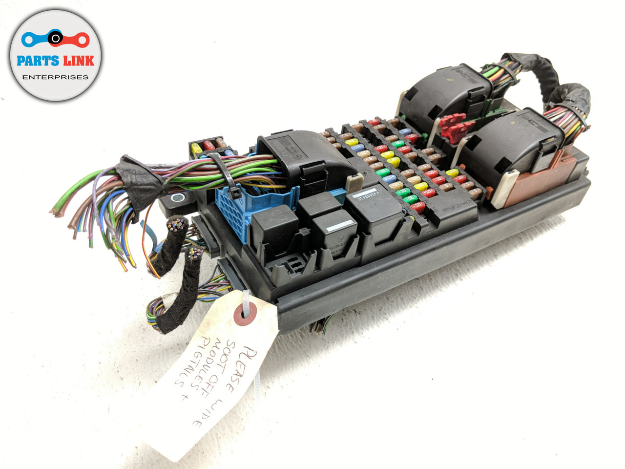2014-2015 range rover sport l494 right dash board fuse box relay module  terminal  parts link enterprise