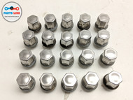 2018-2019 RANGE ROVER VELAR L560 FRONT REAR WHEEL RIM BOLT LUG NUT SET-20 CHROME