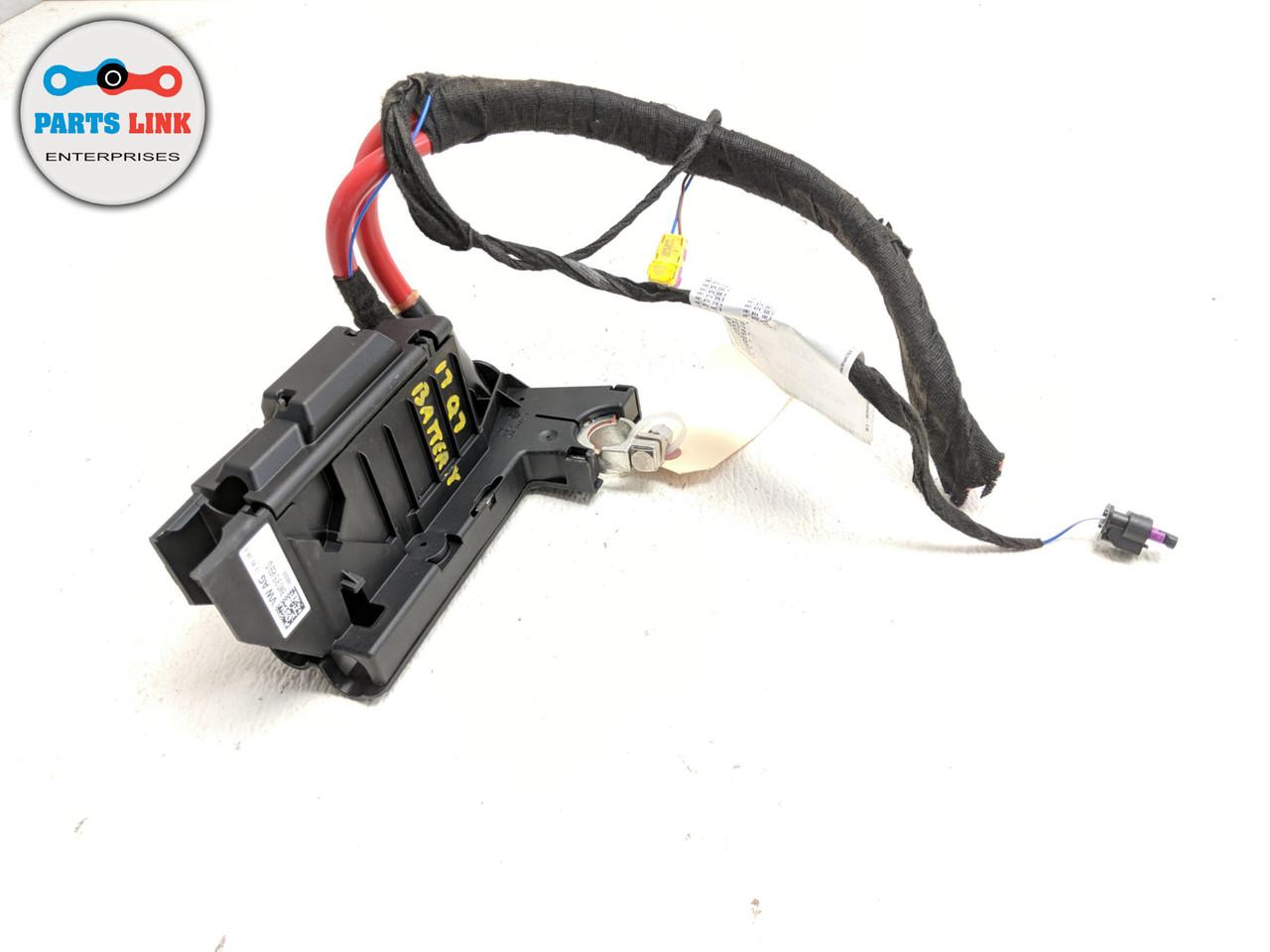 2017-2019 AUDI Q7 4M BATTERY FUSE BOX RELAY CONTROL MODULE CABLE TERMINAL  OEM - PARTS LINK ENT   Audi Battery Fuse Box      Parts Link Enterprise