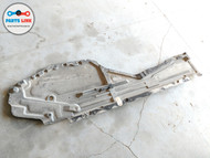 2014-2018 BMW X5 F15 RIGHT LOWER UNDER BODY TANK FLOOR SPLASH SHIELD GUARD SET-2