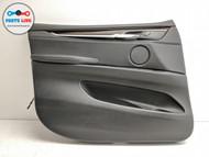 2014-2018 BMW X5 F15 FRONT LEFT DRIVER INNER DOOR TRIM PANEL HANDLE ARMREST CARD