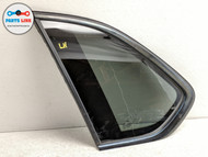 2014-2018 BMW X5 F15 REAR LEFT DRIVER QUARTER PANEL WINDIOW GLASS MOLDING FRAME