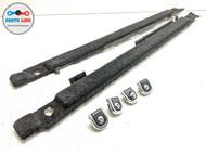 2013-2017 RANGE ROVER L405 REAR TRUNK CARGO FLOOR RAIL TRIM TIE DOWN HOOKS SET-6