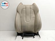 12-15 RANGE ROVER EVOQUE L538 FRONT LEFT DRIVER UPPER SEAT BACK REST PAD FRAME