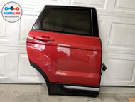 2012-2019 RANGE ROVER EVOQUE L538 REAR RIGHT DOOR SHELL GLASS HANDLE MOLDING RED