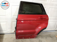 2012-2019 RANGE ROVER EVOQUE L538 REAR LEFT DOOR SHELL FRAME GLASS HANDLE FLARE